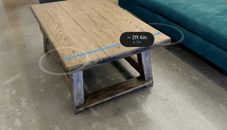 Get Excited, Google's AR Measure App Is Coming To Your Android Device