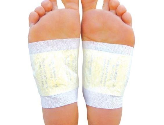 Using Detox Foot Pads